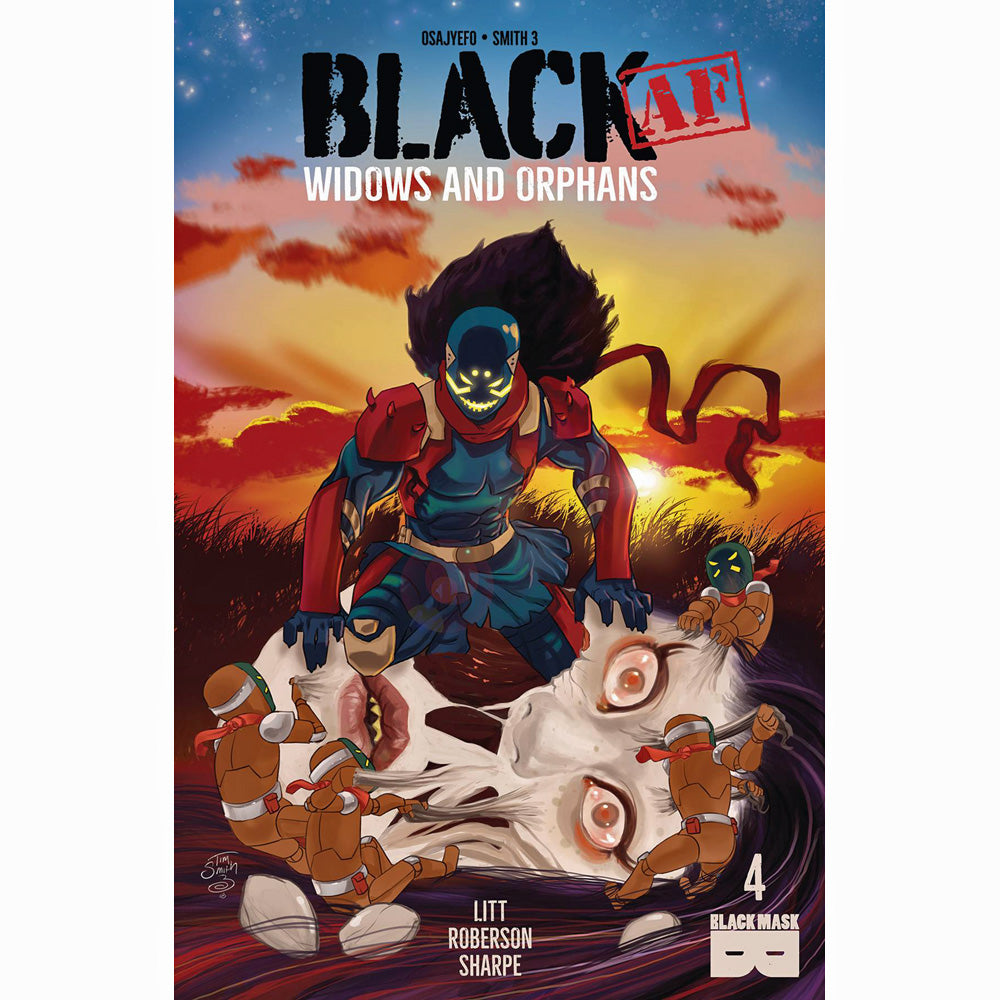 Black AF: Widows And Orphans #4
