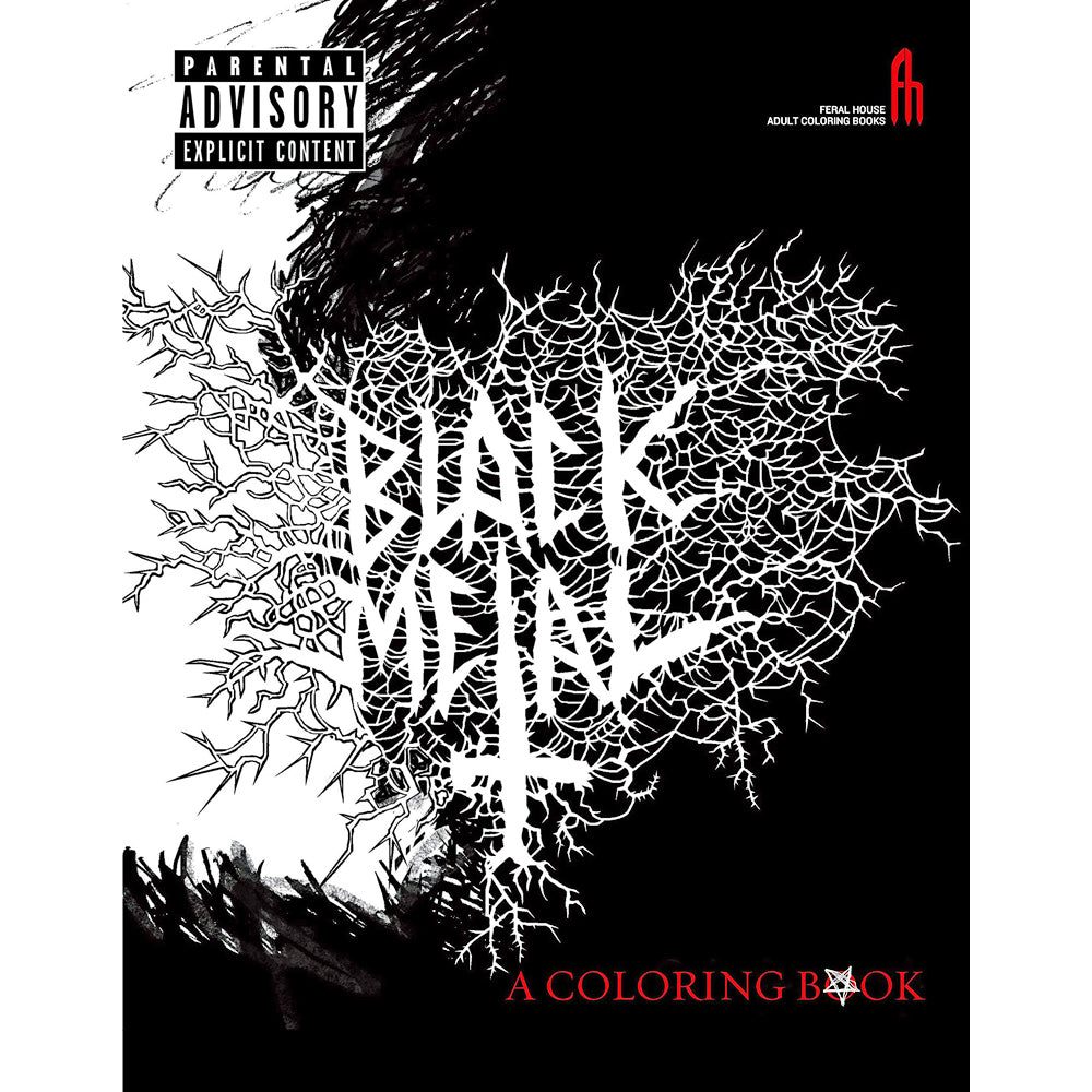 Black Metal Coloring Book