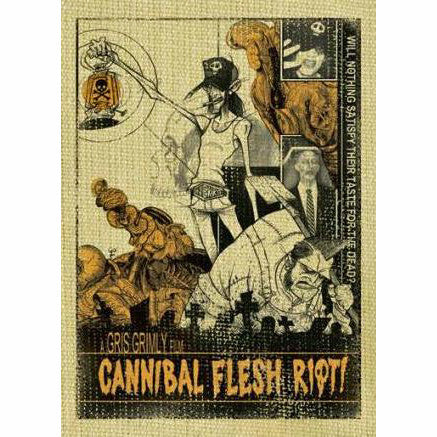 Cannibal Flesh Riot! DVD