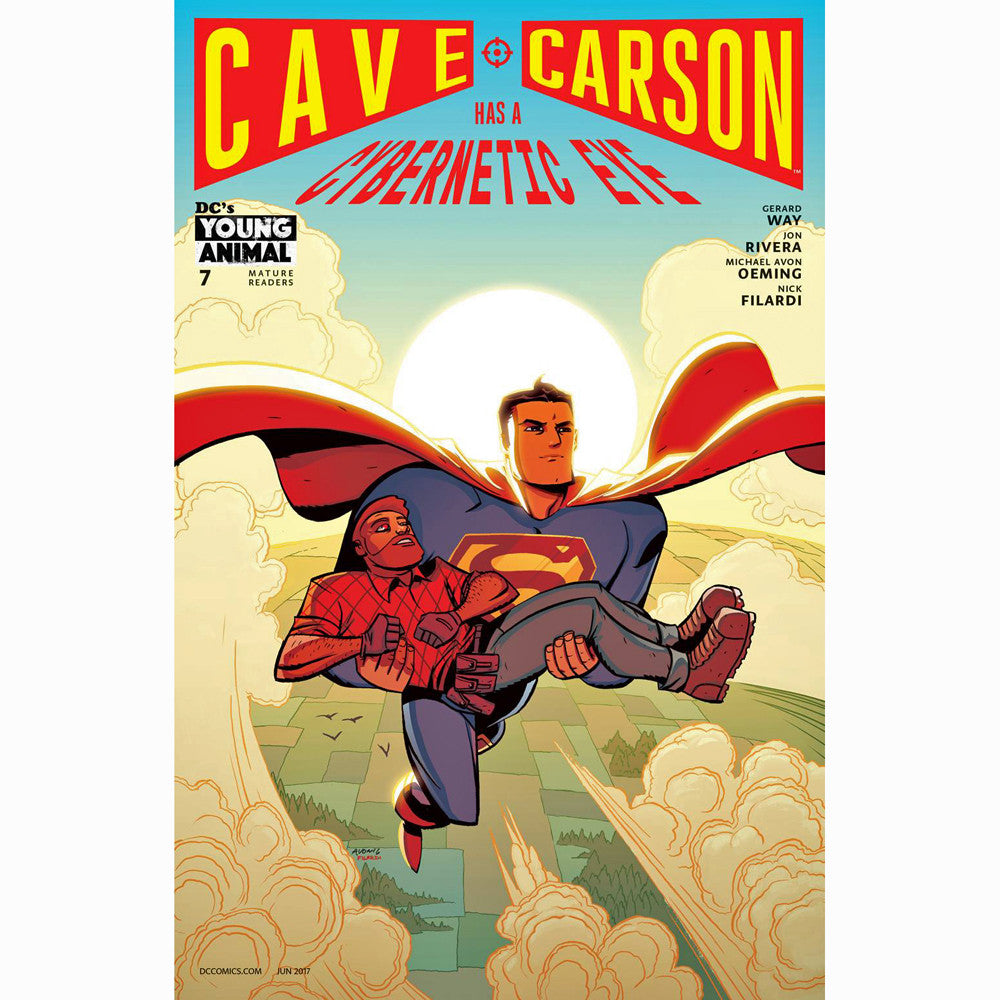 Cave Carson Has A Cybernetic Eye #7