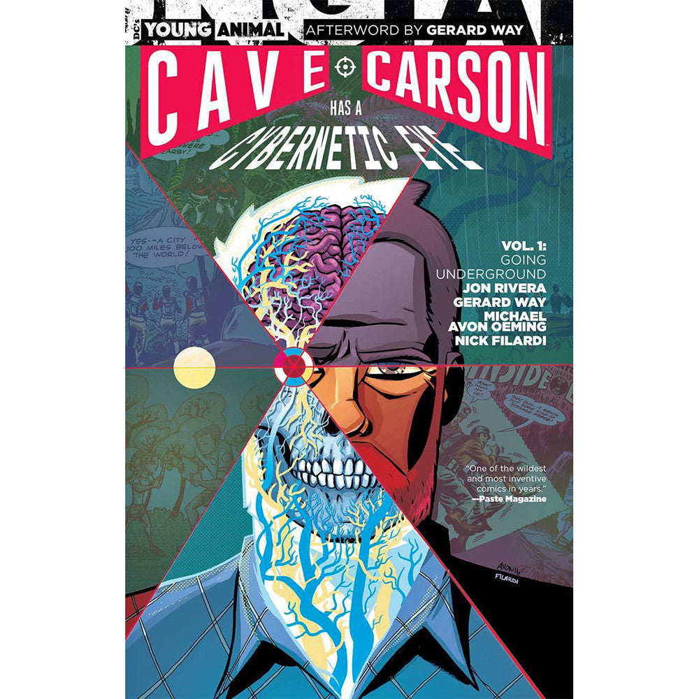 Cave Carson Has A Cybernetic Eye Volume 1
