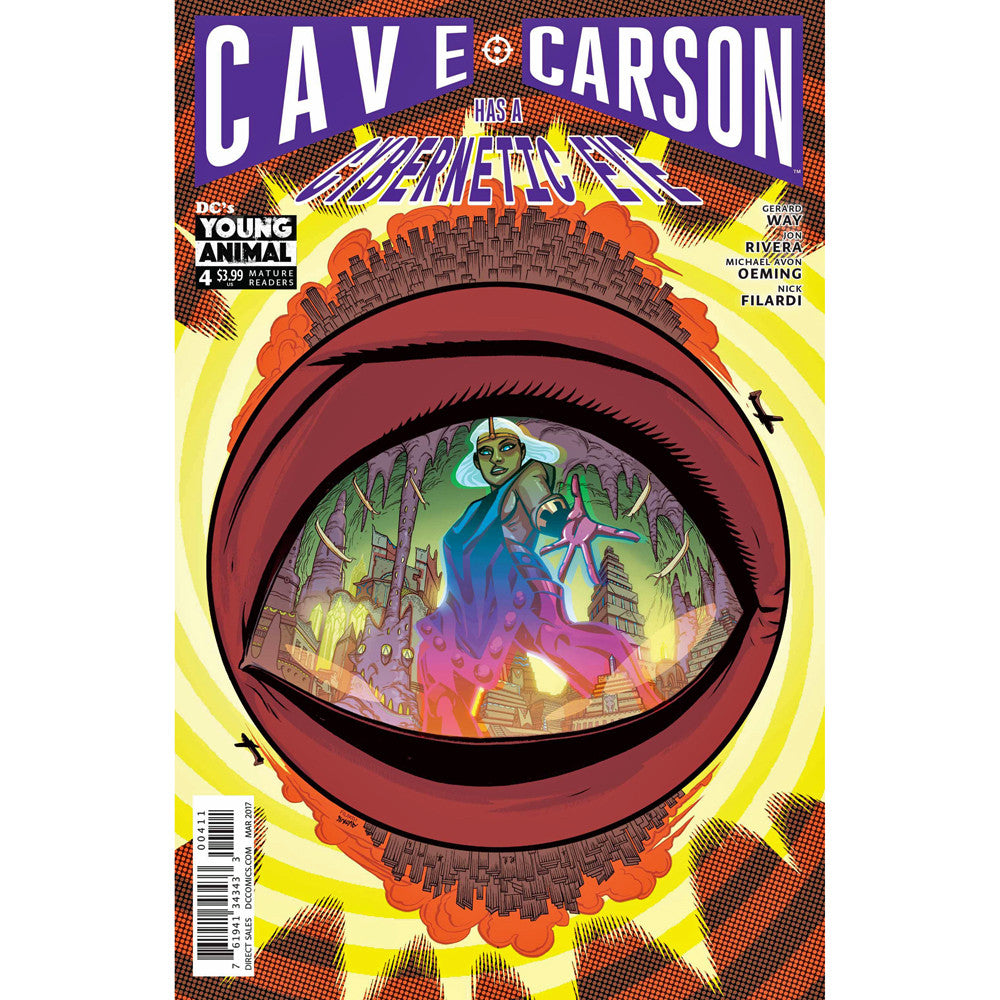 Cave Carson Has A Cybernetic Eye #4