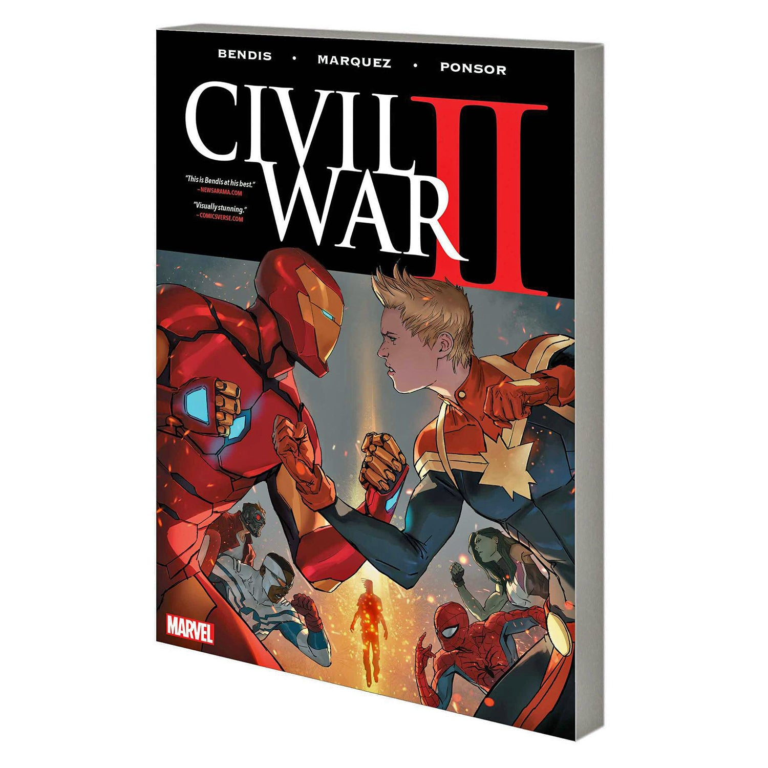 Civil War II (paperback)