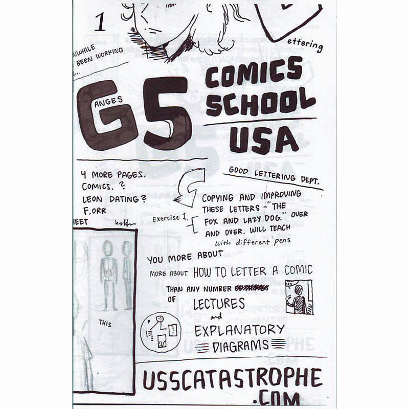 Comics School USA #1
