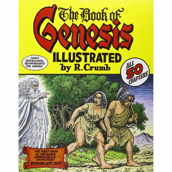 Book of Genesis Illustrated by R. Crumb