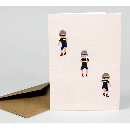 Auto Chop Greeting Card