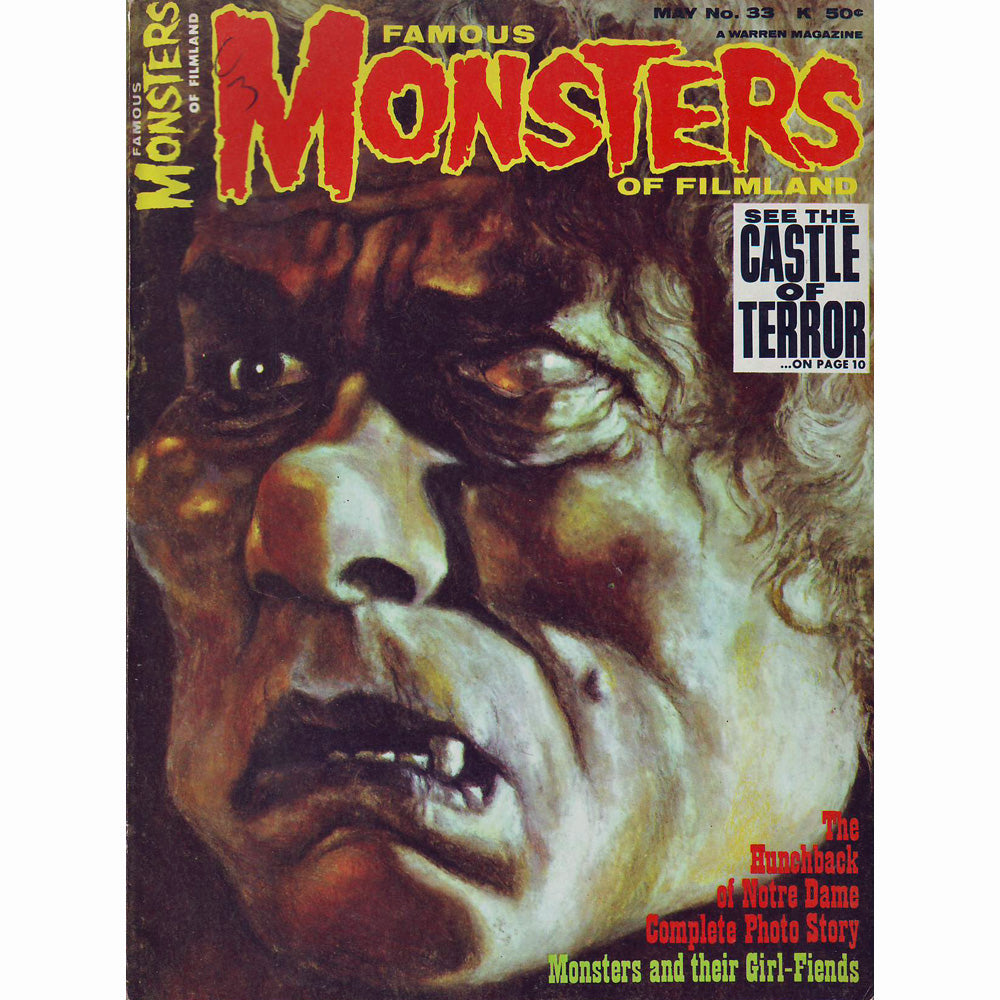 Famous Monsters of Filmland Magazine #33