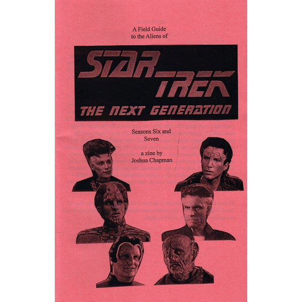 Field Guide To The Aliens Of Star Trek The Next Generation Season 6-7