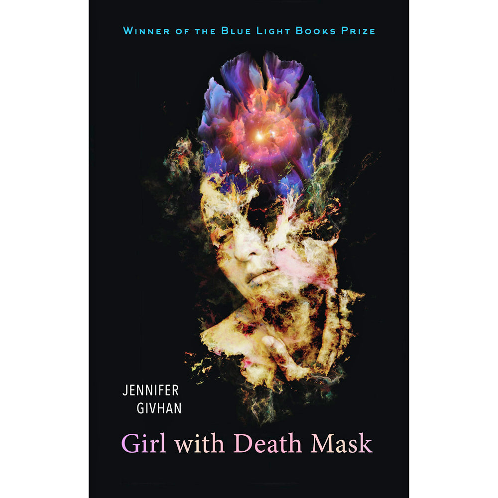 Girl with Death Mask