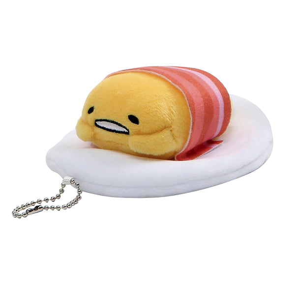 Gudetama: Bacon Blanket Plush Keychain