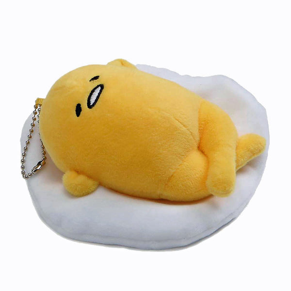 Gudetame: Face Up Plush Keychain