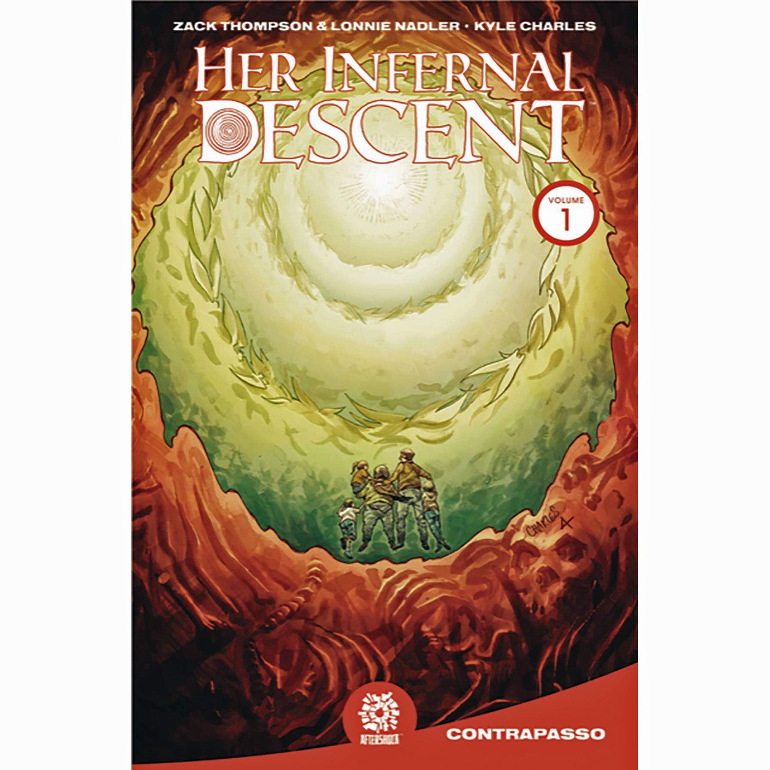 Her Infernal Descent Volume 1: Contrapasso