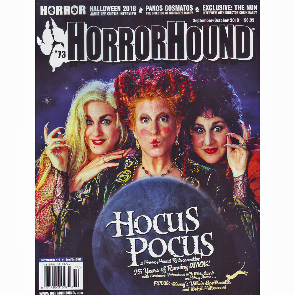 HorrorHound Magazine #73