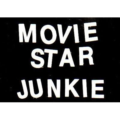 Movie Star Junkie Postcard