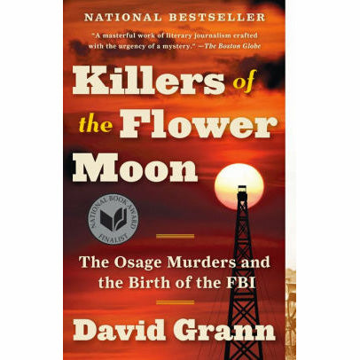 Killers Of The Flower Moon (paperback)