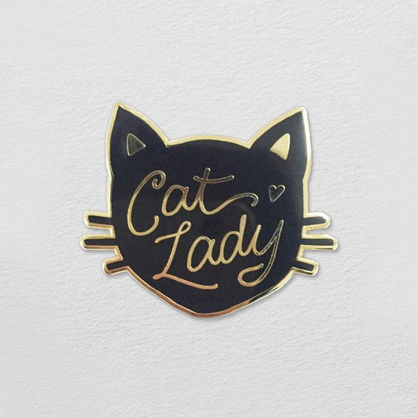 Cat Lady Pin