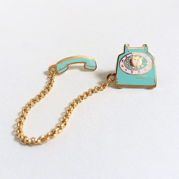 Rotary Dial Telephone Pin (Mint)