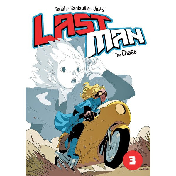Last Man Volume 3: The Chase