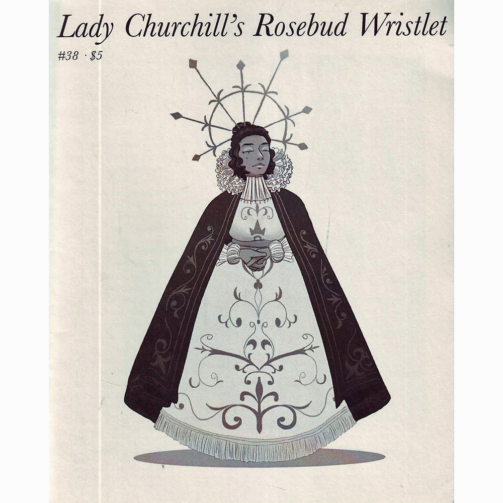 Lady Churchill's Rosebud Wristlet #38