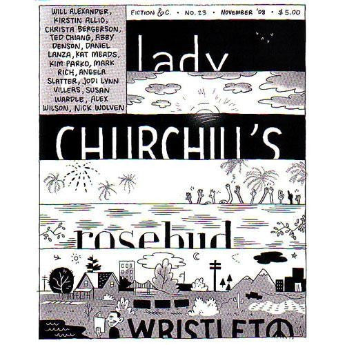 Lady Churchill's Rosebud Wristlet #23