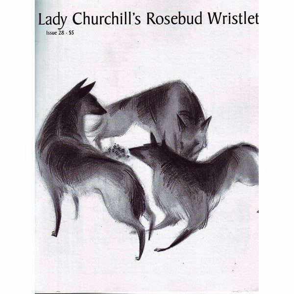 Lady Churchill's Rosebud Wristlet #28