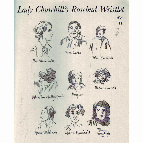 Lady Churchill's Rosebud Wristlet #34