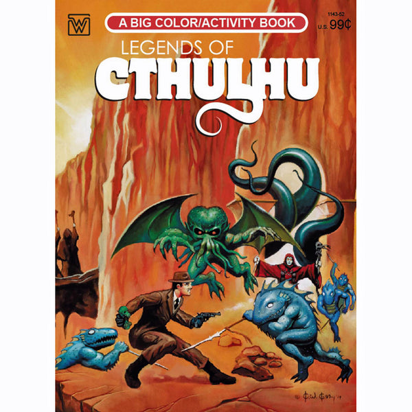 Legends Of Cthulhu Coloring Book