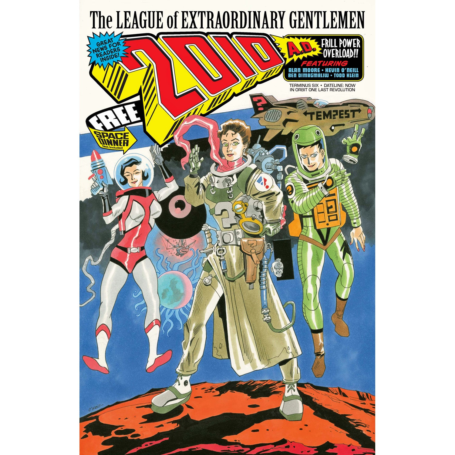 League of Extraordinary Gentlemen THE TEMPEST #2 by Alan Moore /& Kevin O/'Neill