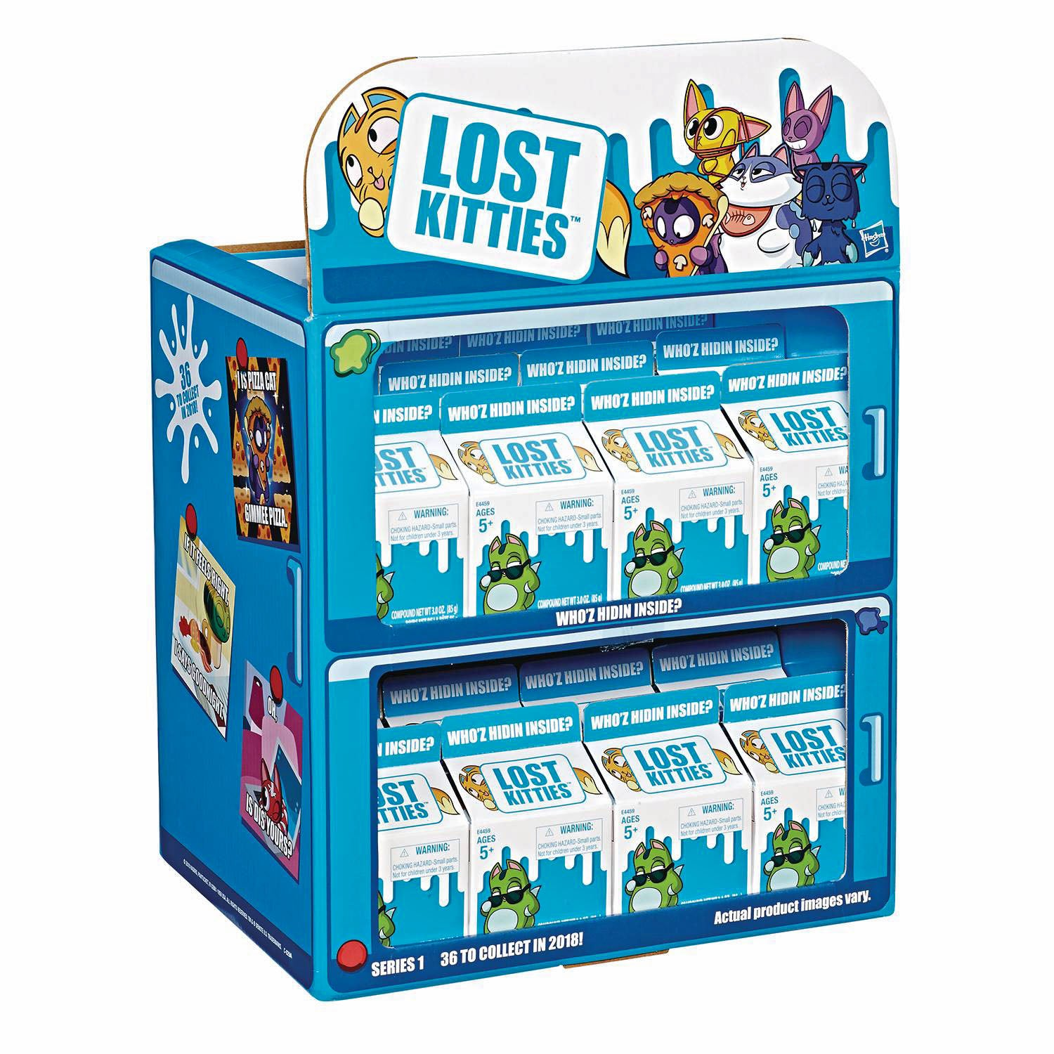 Lost Kitties Mini Figure