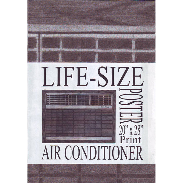 Air Conditioner Life-Size Poster