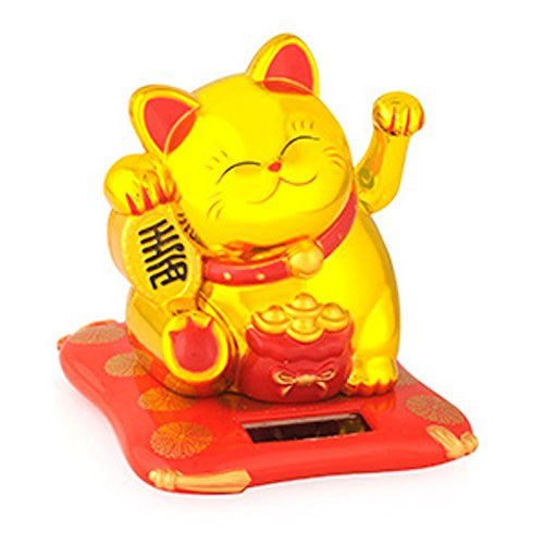 Maneki Solar Lucky Cat