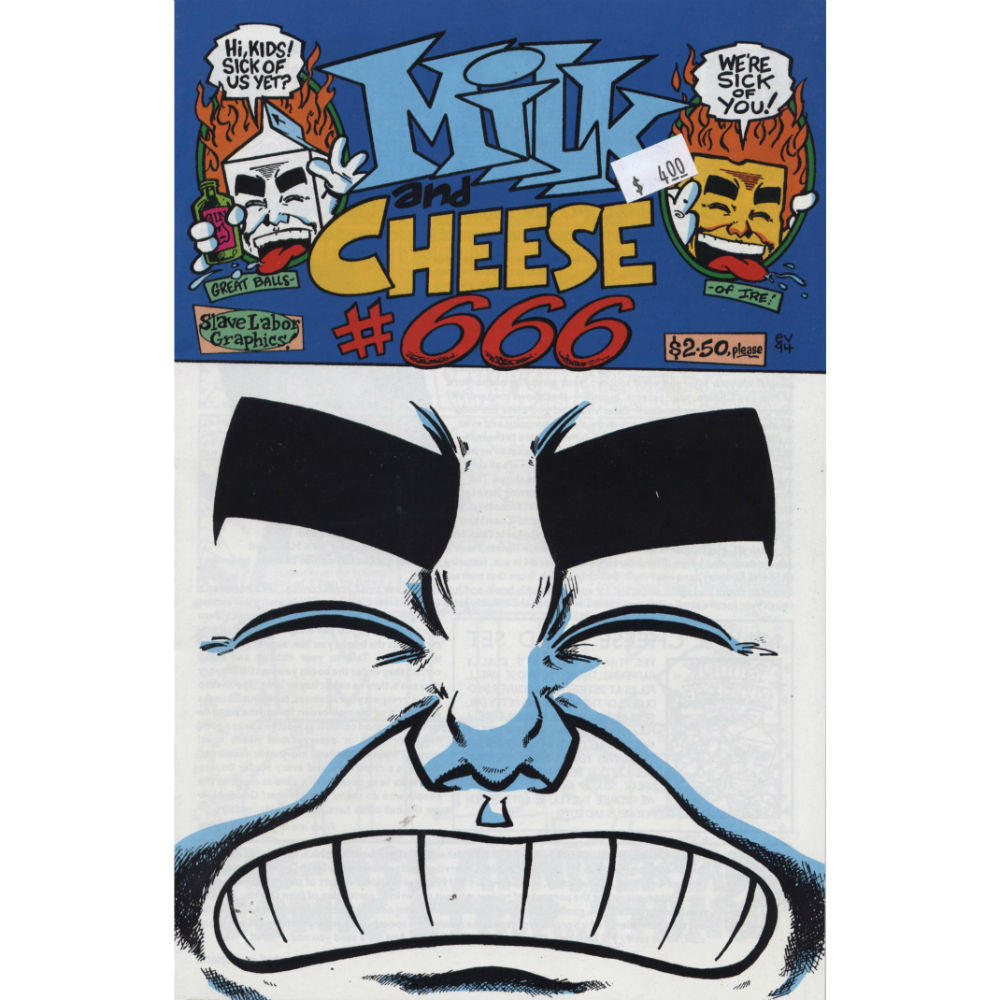 Milk And Cheese 666 #1