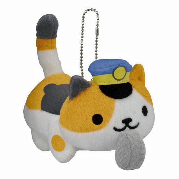Neko Atsume Conductor Whiskers Plush