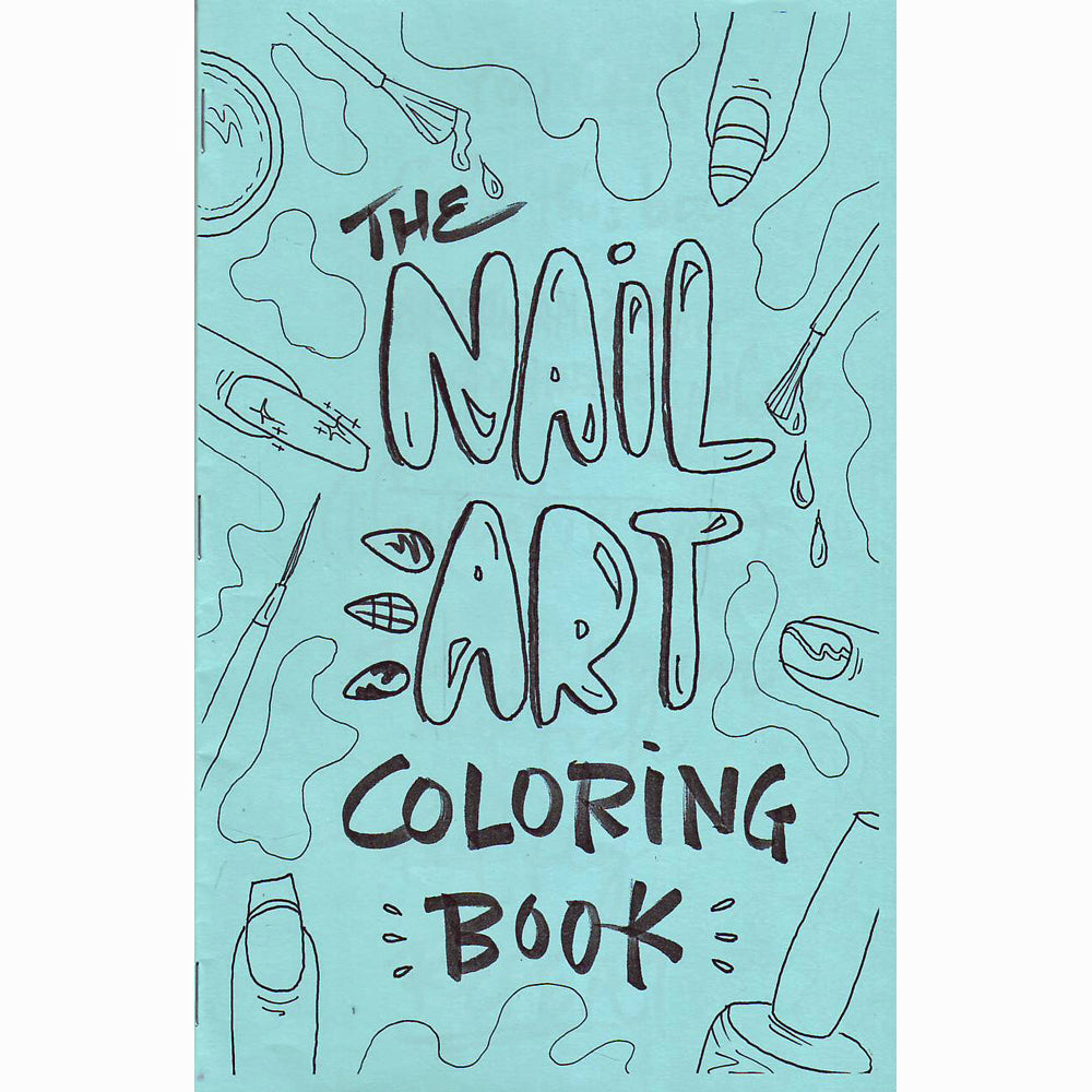 Nail Art Coloring Book