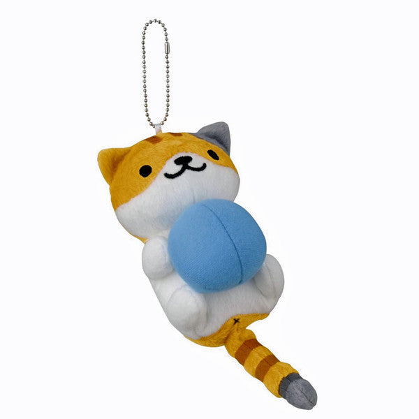 Neko Atsume Tabitha With Blue Ball Plush