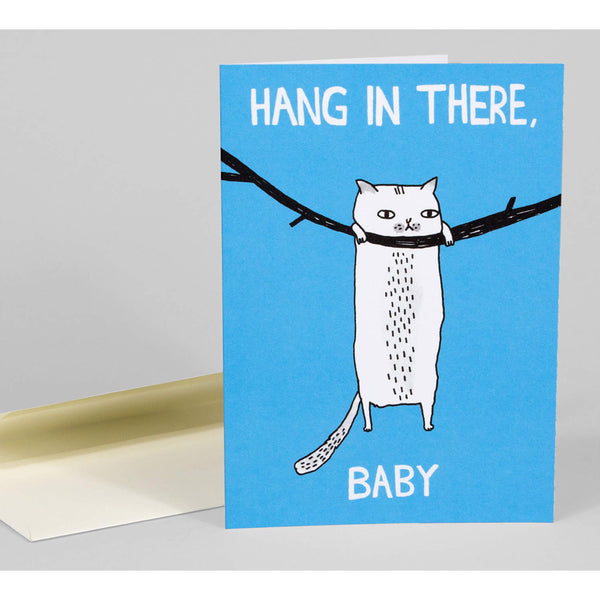 Hang In There Baby Notecard
