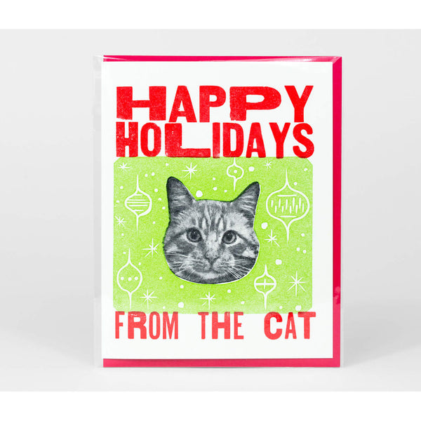 Happy Holidays from the Cat Notecard
