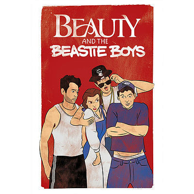 Beauty And The Beastie Boys Postcard