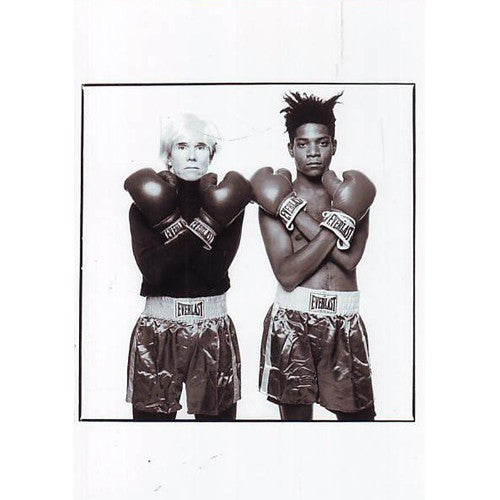 Andy Warhol And Jean-Michel Basquiat Postcard