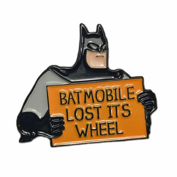 Batmobile Enamel Pin