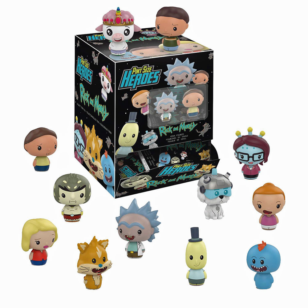 Pint Sized Heroes Rick & Morty Figures