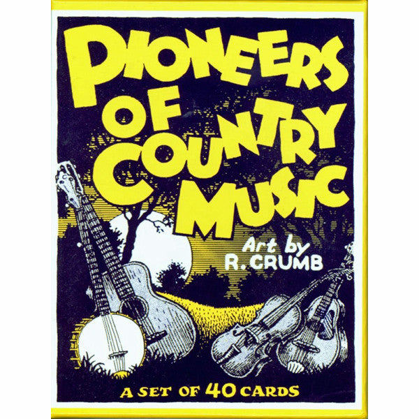Pioneers of Country Music Trading Card Set by R. Crumb