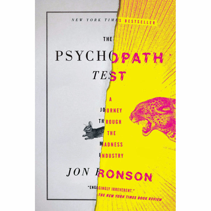 Psychopath Test: A Journey Through the Madness Industry