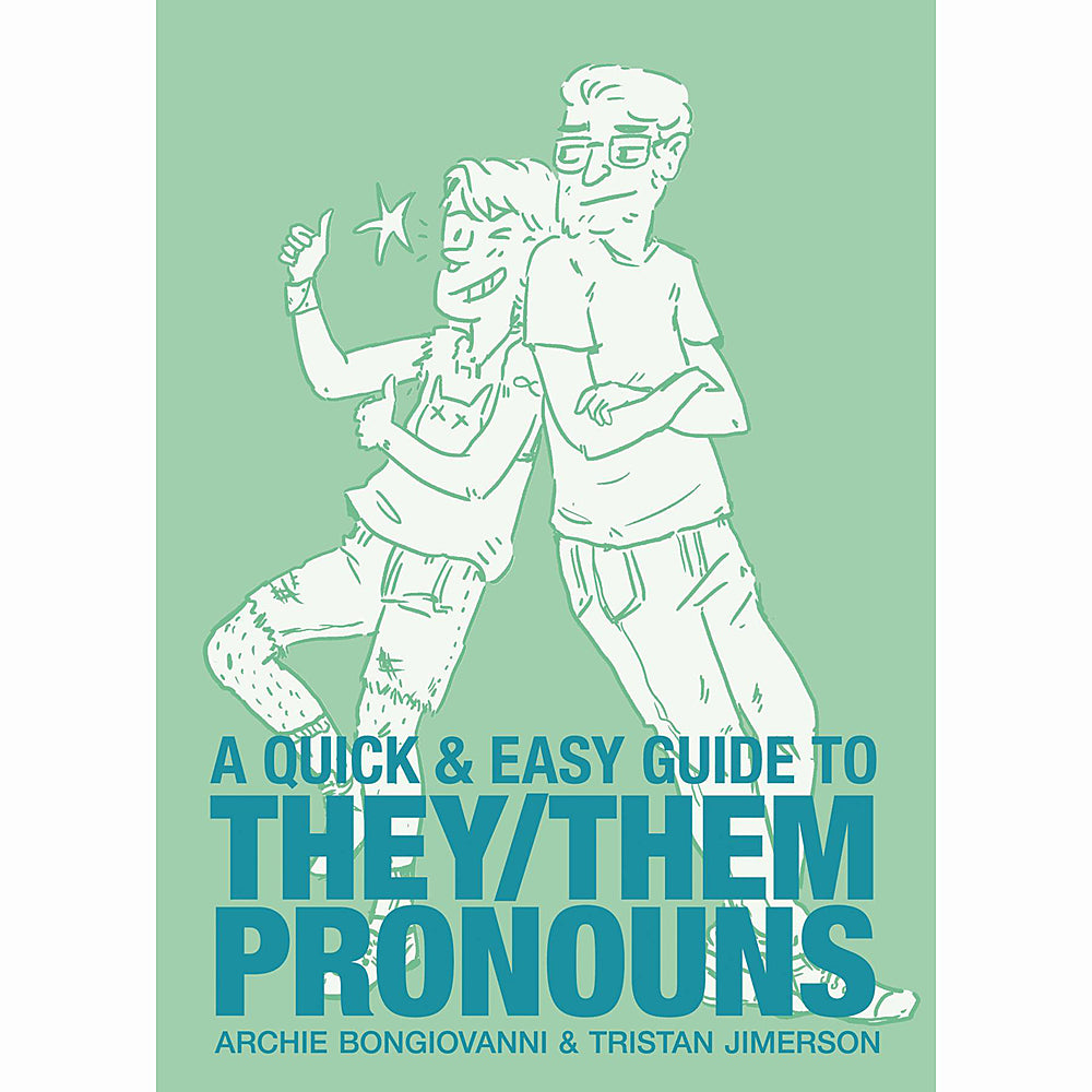 Quick And Easy Guide To They Them Pronouns