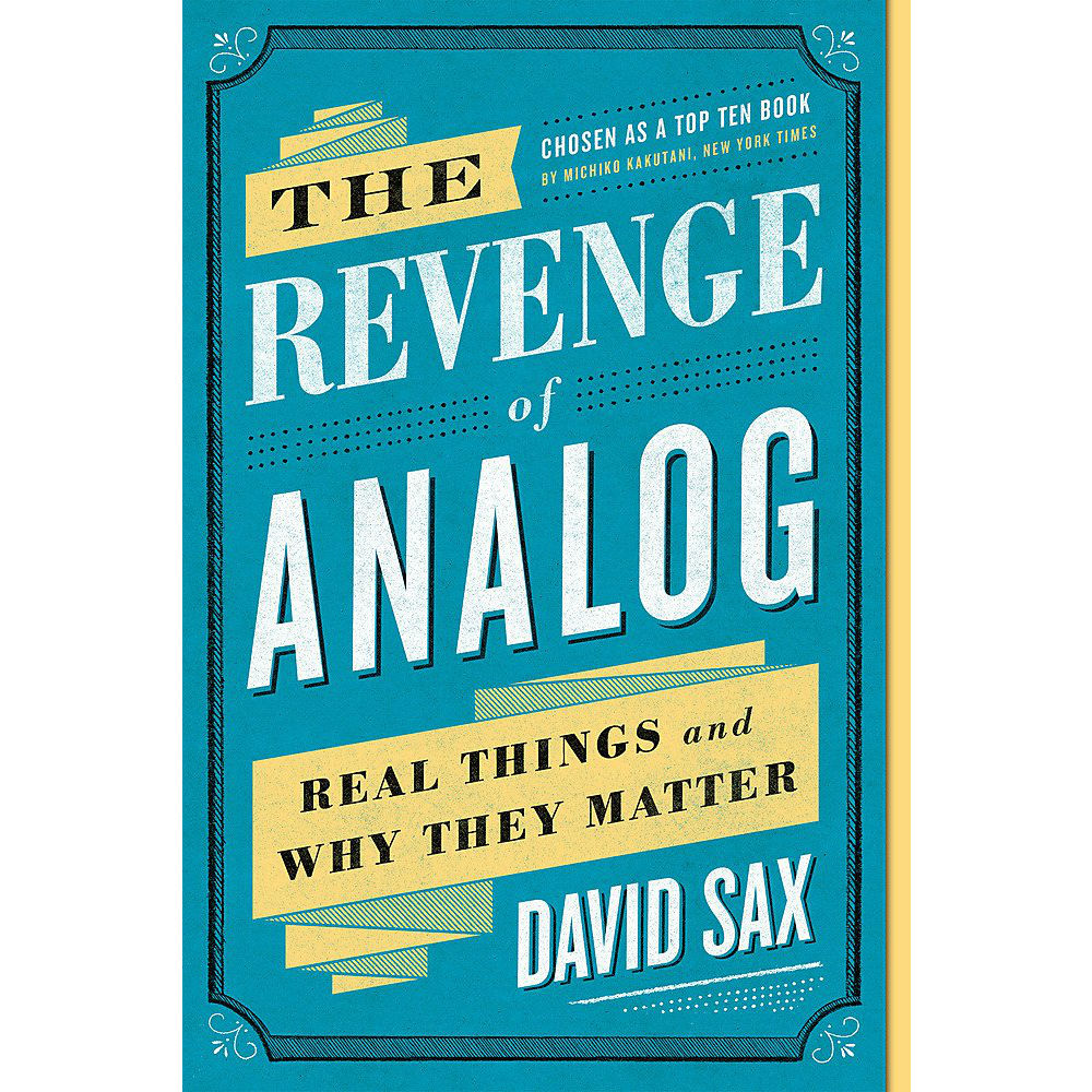 The Revenge Of Analog (paperback)