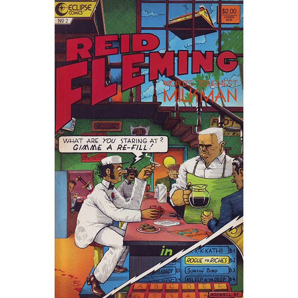 Reid Fleming World's Toughest Milkman #2