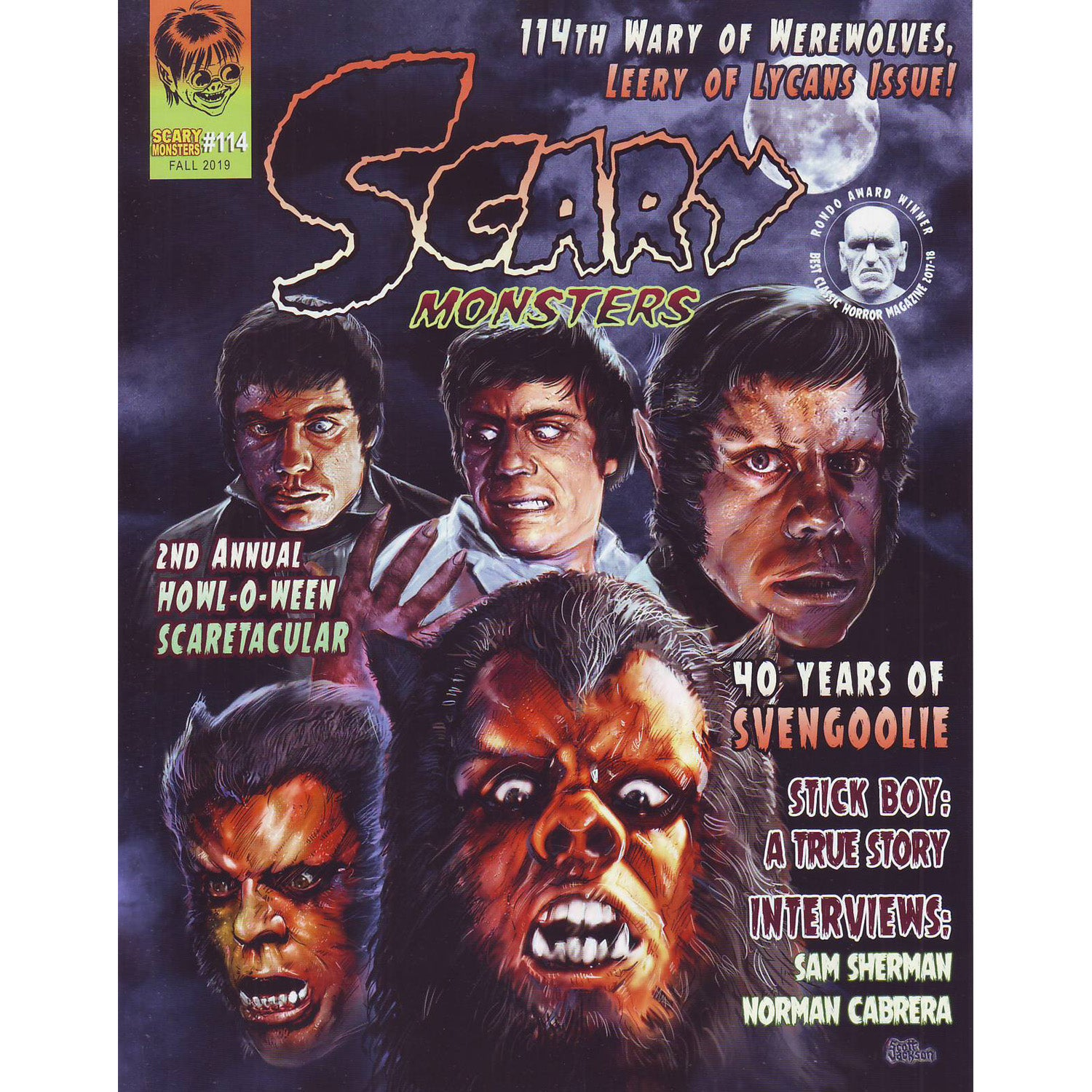 Scary Monsters Magazine #114