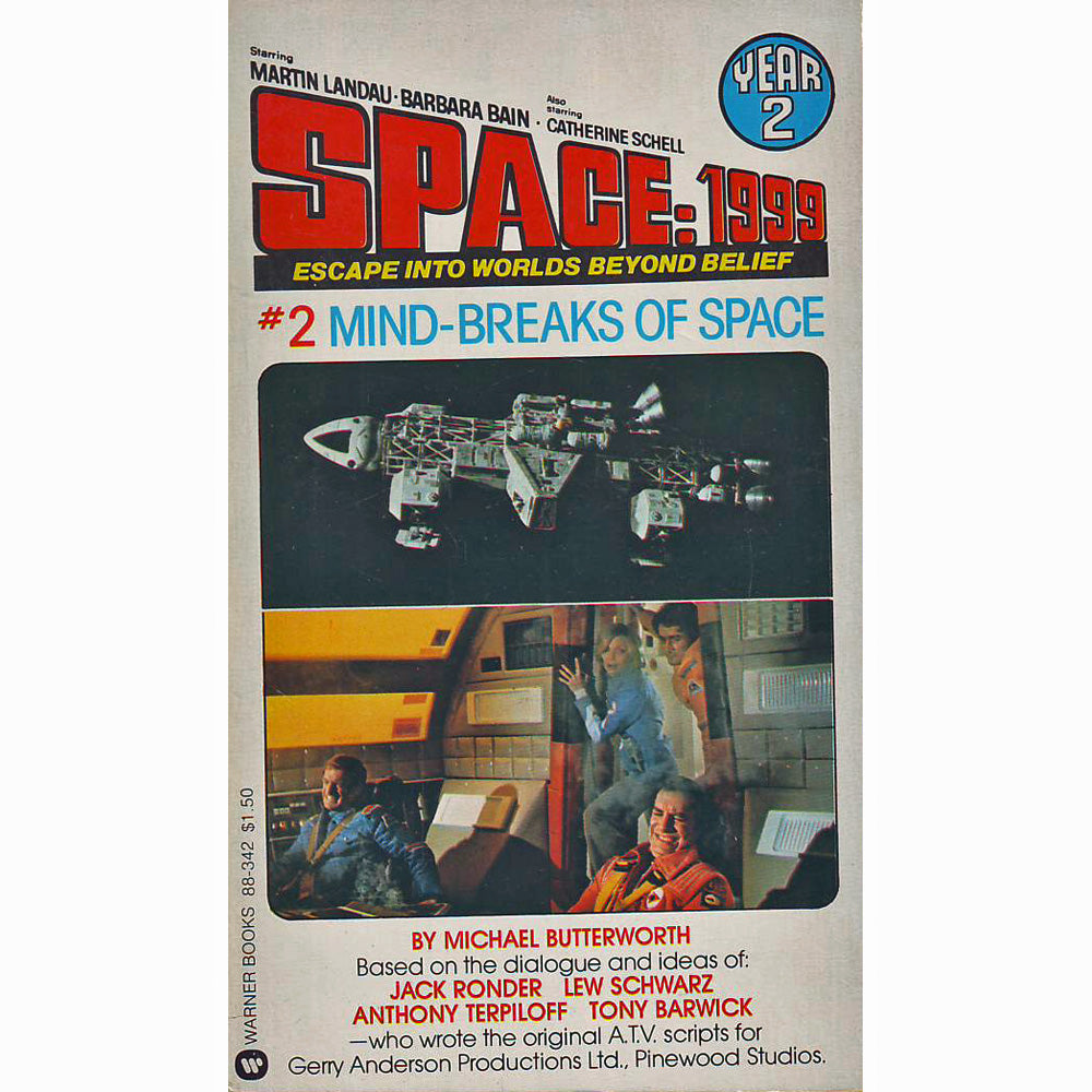 Space: 1999 Year 2 #2: Mind-Breaks Of Space