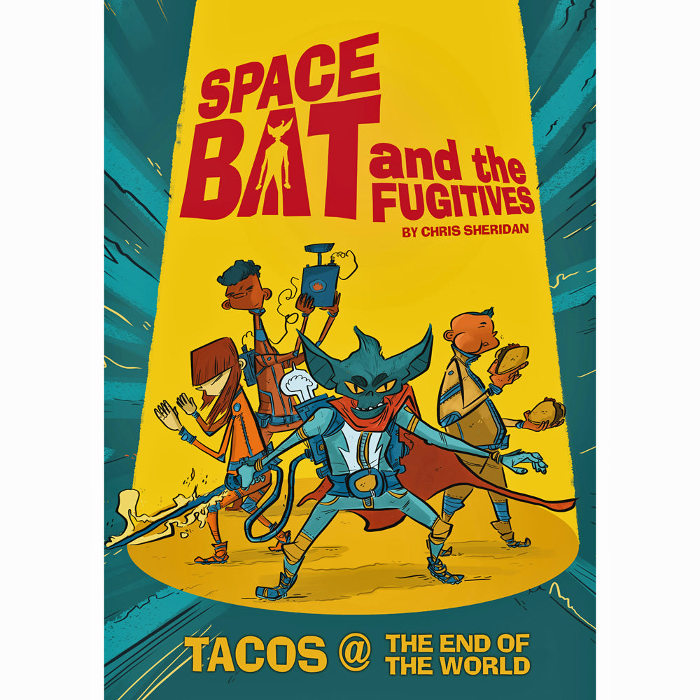 Spacebat And The Fugitives Book 1