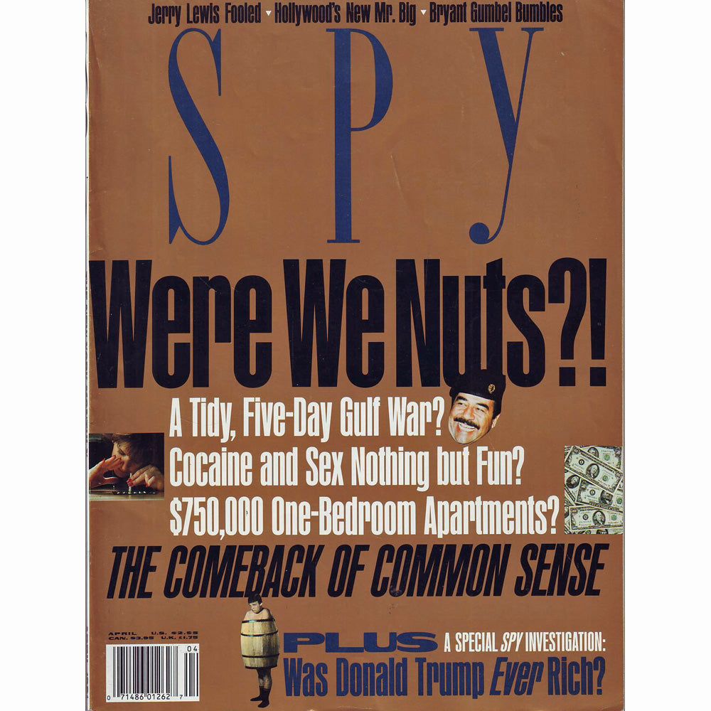 Spy Magazine (April 1991)